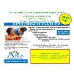 Recruitment Ad Dept of Labor